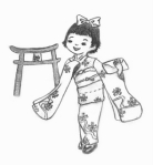 Japanese New Year clothes