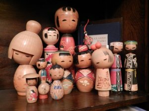 kokeshi dolls - kawaii!